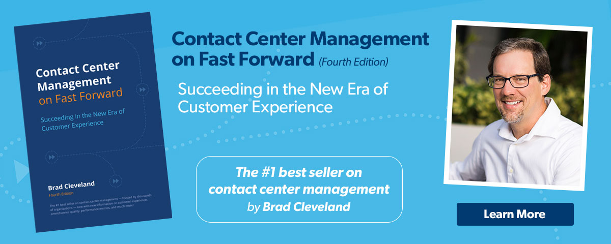 Contact Center Management on Fast Forward