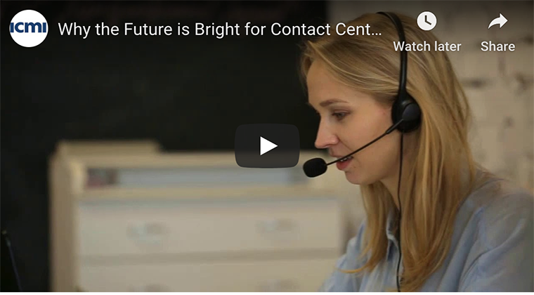 future for contact center professionals