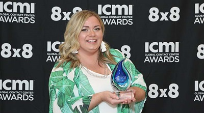 Ashley Trout, ICMI Global Contact Center Awards