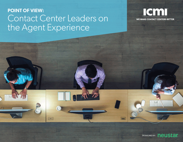 Contact Center Leaders on the Agent Experience