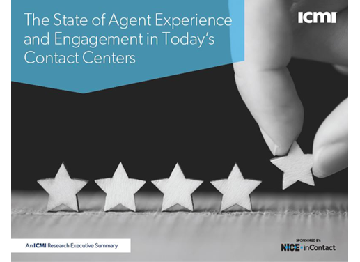 The State of Agent Experience and Engagement in Today's Contact Centers