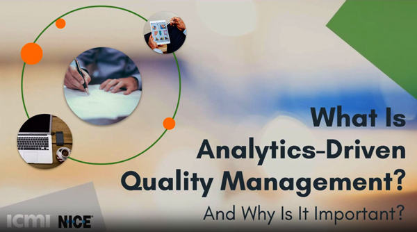 What is Analytics-Driven Quality Management