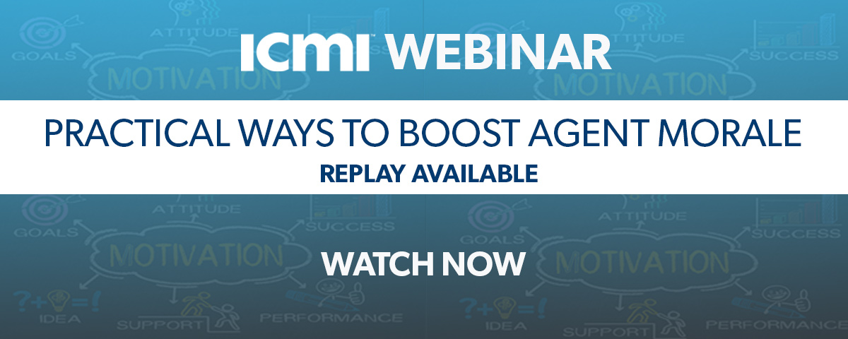 ICMI Webinar Replay