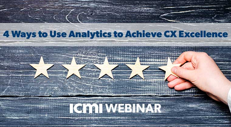 July 2019 Webinar CX Excellence