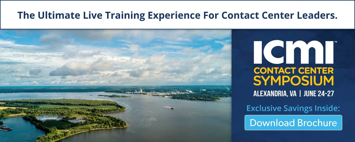 Download the Alexandria Contact Center Symposium Brochure