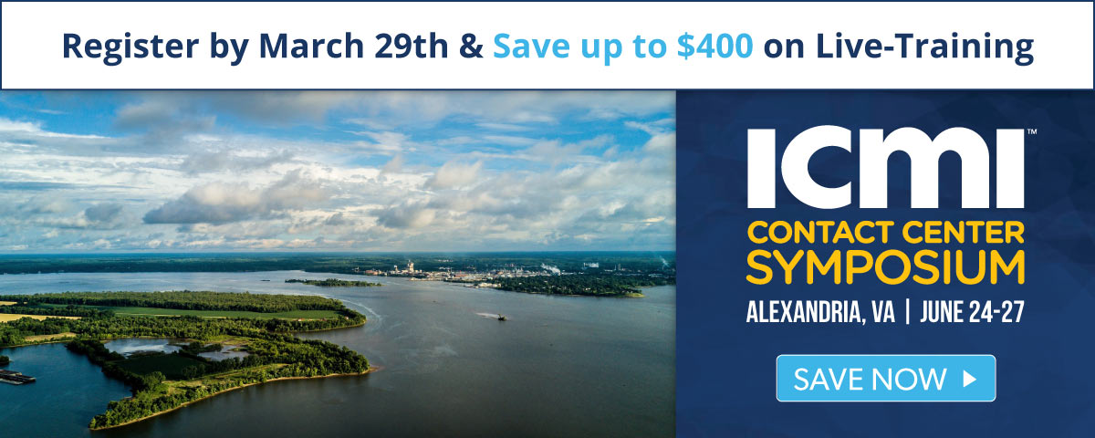 Super Early Bird Prices end soon for the Alexandria Contact Center Symposium