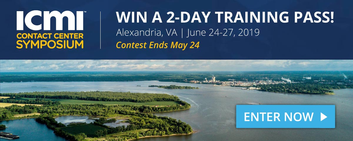 Enter contest for a chance to win a free 2-day ICMI Training Symposium pass.