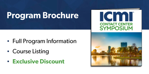 ICMI Orlando Symposium Program Brochure