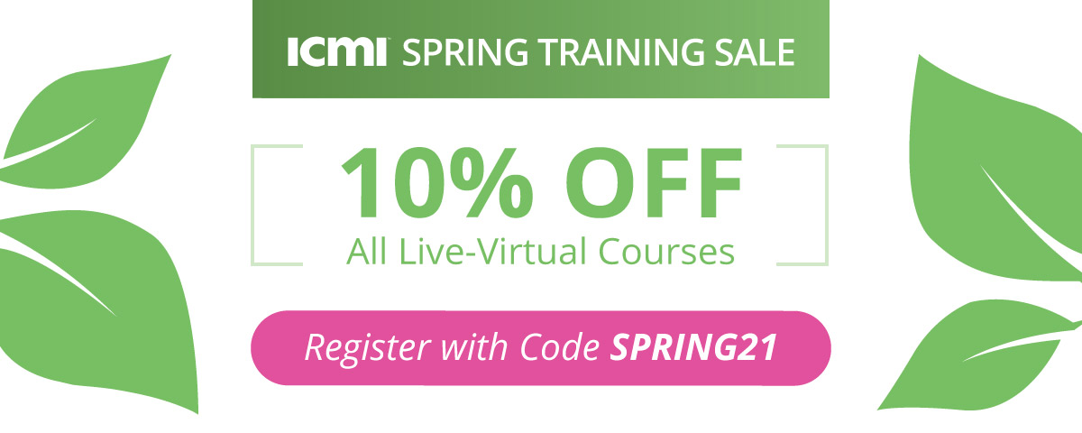 Spring ICMI contact center training sale
