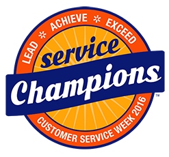 Customer Service Week 2016 logo