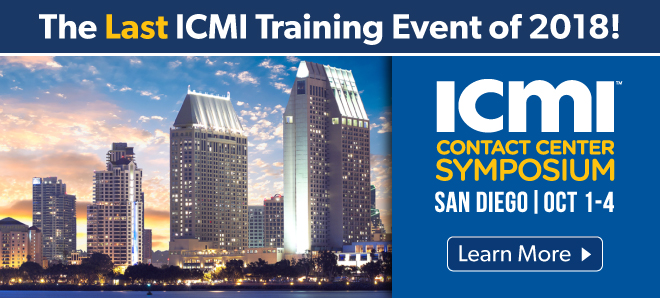 San Diego Contact Center Training Symposium slider image