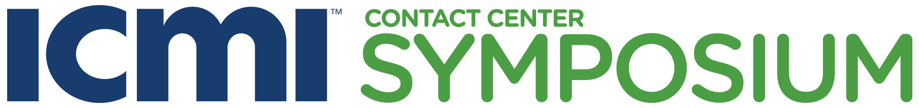 ICMI Contact Center Symposium Logo